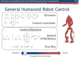 Control of Full Body Humanoid Push Recovery Using Simple Models ...