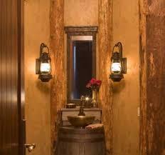 rustic bathroom lighting fixtures. Fascinating Rustic Bathroom Light Fixtures Design For Ideas With Bath Mirror Also Rain Shower Viewing Gallery Lighting G