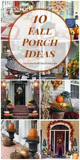 Cheap easy fall decorating ideas Outdoor Ready To Start Decorating For Fall Here Are 10 Gorgeous Fall Porch Ideas To Inspire Pinterest 179 Best Autumn Inspiration Images Gooseberry Patch Currant