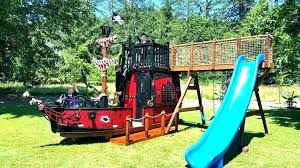 pirate ship outdoor playset plans little pirate ship climber playhouse for outdoor wooden full size pirate ship outdoor playset plans