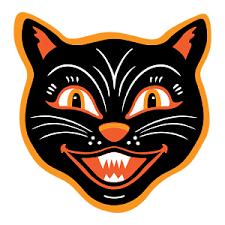 vintage halloween black cat.  Cat Vintage Halloween Black Cat Intended L