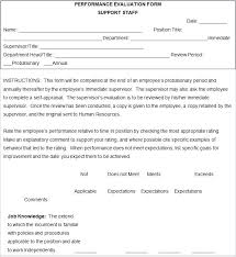 Simple Employee Review Basic Employee Evaluation Form Johnnybelectric Co