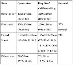 Flat Sheet Size Chart Flat Sheet Sizes Lingeriestar Co