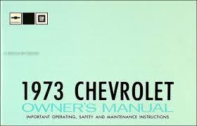 1973 chevy car wiring diagram manual reprint impala caprice bel air Chevy Headlight Wiring Diagram 1973 chevy owner's manual reprint impala, caprice bel air