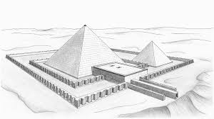 Pyramid House Plans Pyramid Of Khendjer Wikipedia