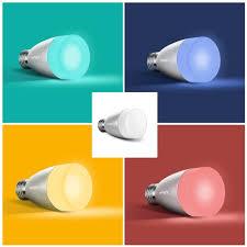 lighting wireless. Xiaomi Yeelight Smart Lamp Bulb Wireless Control LED Light With Remote Lighting
