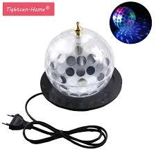 Mini Disco Ball Decorations Aliexpress Buy mini 100W led stage light AC100 100V Auto rotate 80