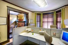 creative office design ideas. Office:Office Design Idea With Creative Decor Bay Windows And Led Ceiling Lights Office Ideas