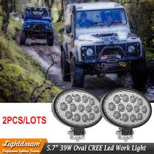 Defender Flood Lights Us 82 9 Oval Flood Beam Led Agriculture Lights 5 65inch 39w Led Truck Work Lights For John Deere Car Suv Atv Utv Led Fog Lights X 2pcs In Light