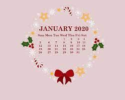 January 2020 Calendar Wallpapers ...