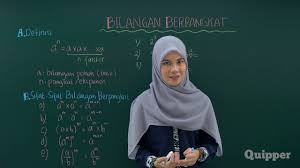 In addition to this book, on our website you can read the guides and different art ebooks online, either downloading theirs. Quipper Video Matematika Kelas 9 Pangkat Bilangan Bulat Positif Kurikulum 2013 Youtube