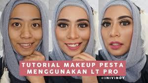 one brand makeup tutorial lt pro tutorial makeup ke pesta by ini vindy you