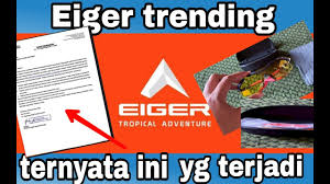 Send us your videos, the best ones will be promoted to a wide audience. Eiger Surati Youtuber Karena Review Produknya Eiger Surateiger Suratkeberataneiger Youtube