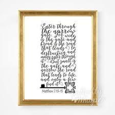 interesting framed scripture wall decor as well as scripture print amen print verse from erflywhisper on