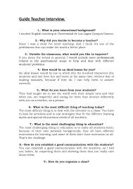 Guide Teacher Interview By Matias Franckel Avendaño Issuu