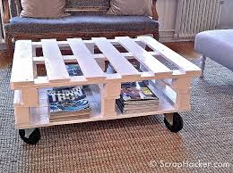 great storage for a addict d i y pallet coffee table tutorial from how to build a rustic coffee table source ser com