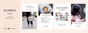 Feature Story Template Free Instagram Stories Templates Planoly