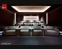 modern home movie theater. exquisite new media room featuring cineak strato seats. modern-home-cinema modern home movie theater s