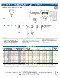 betaled the edge led area light type 1 short r3 post top by alcon lighting issuu