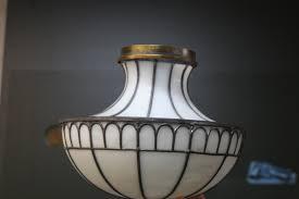antique glass lamp restoration