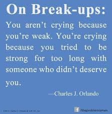 After Break Up Quotes Beauteous Strong Boyfriend Break Up Quotes On QuotesTopics