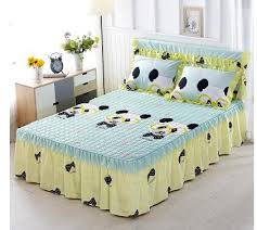 bed sheets printed. Exellent Printed High Quality 100 Cotton Bed Sheets Printed Skirts Mattress Protective  Cover Sheet Bedspread Twin Full Queen Sizein Bed Skirt From Home U0026 Garden On  Intended Sheets Printed
