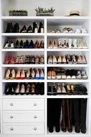 Stunning closets // 40 shoe organizing tips and tricks // closet organizing