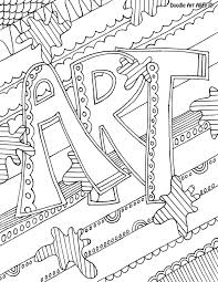 art cover page ideas art coloring pages inviting subject cover classroom doodles and 11