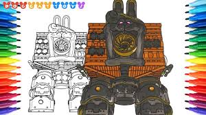 How To Draw Super Mario Odyssey Robobrood Boss Battle 191