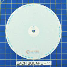Partlow 00214740 Circular Charts