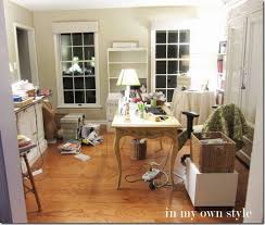 Small Picture Home Office No Cost Decorating Switcheroo In My Own Style