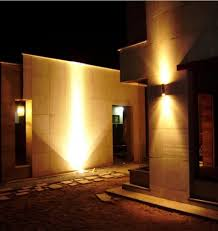 stupendous modern exterior lighting. Led Outdoor Wall Sconce Up Down Light Cylinder Fixture Commercial Stupendous Modern Exterior Lighting O