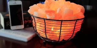 basket design himalayan salt lamps