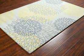 area rugs gray and yellow rug