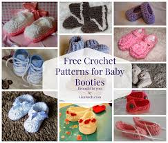 Free Crochet Patterns For Baby Booties Custom Ideas