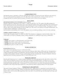Best Ideas Of Resume Objective Examples Tourism Resume Ixiplay Free