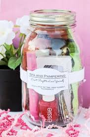 diy bridesmaid gift spa kit