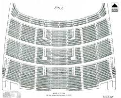 31 Meticulous Ovens Auditorium Seating Chart Seat Numbers