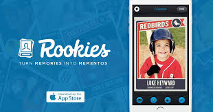 custom baseball cards stadia ventures startup profile series rookies allows fans to