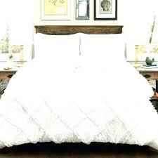contemporary ruffle white duvet cover twin uk duve