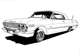 Small Picture Lowrider Coloring Page 29344 Bestofcoloringcom