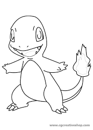 Charmander Pokemon Disegno Da Colorare