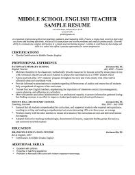 Resume Sample For English Teacher Beautiful Cover Letter Template