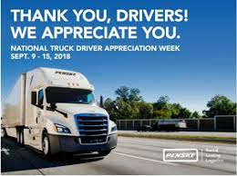 Penske Logistics Honors Drivers During National Truck Driver ...