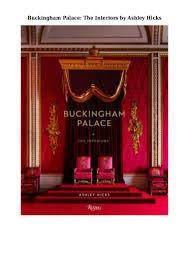 Buckingham Interiors Design Download Pdf Buckingham Palace The Interiors