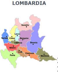 Milano è il capoluogo della regione. Imparare Facile Le Province Della Lombardia By Mihaela Mappe Illustrate Geografia Mappa Dell Italia