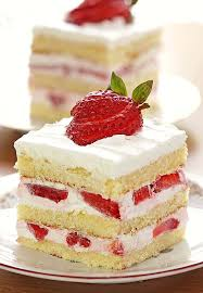 slice of strawberry cake. Modren Slice Easy Strawberry Shortcake Will Take Only A Few To Whip Up And With Little  Creativity With Slice Of Cake