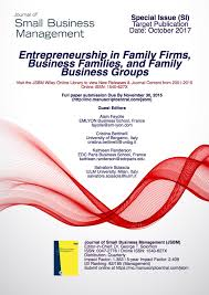 small business research paper pricing strategies for small  journal of small business management jsbm international special issue entrepreneurship in family firms business families and