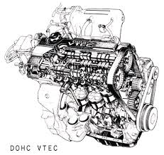 doug s honda vtec crx the first versions of this engine were rated at 112kw at the flywheel later versions characterised by an extruded shiny fuel rail had more lift on the