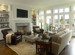 E Chic Family Room Setup 17 Best Ideas About Fireplace Furniture Arrangement  On Pinterest